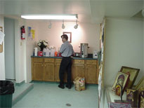 Well, I was forced by outside forces beyond my conrtol to put my own picture on the site.  Here I'm making some coffee.