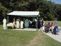 Liturgy was held at Fairmount Willow Hills Cemetery.
