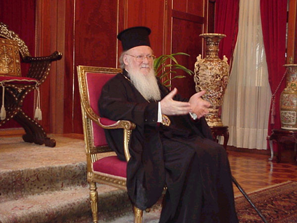 Ecumenical Patriarch Batholomew I.