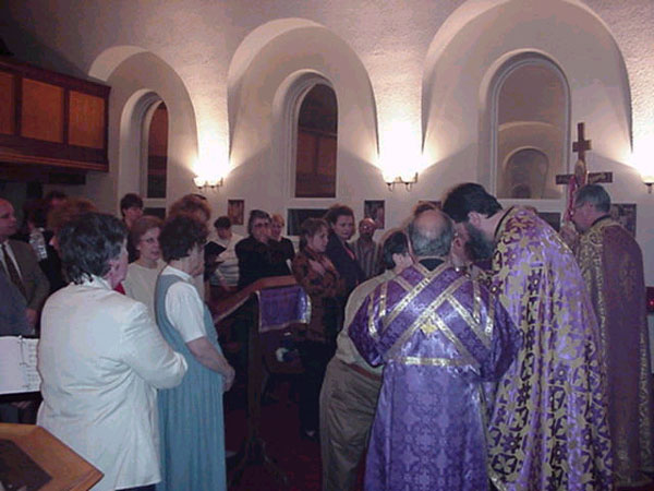Combined Parishes celebrate Liturgy