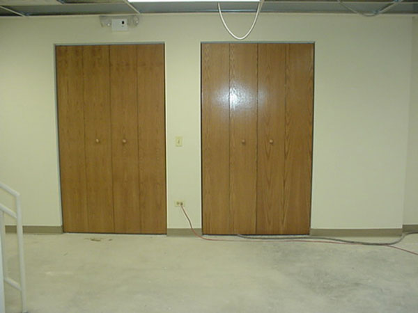 Closet Doors in The Feloowship Hall
