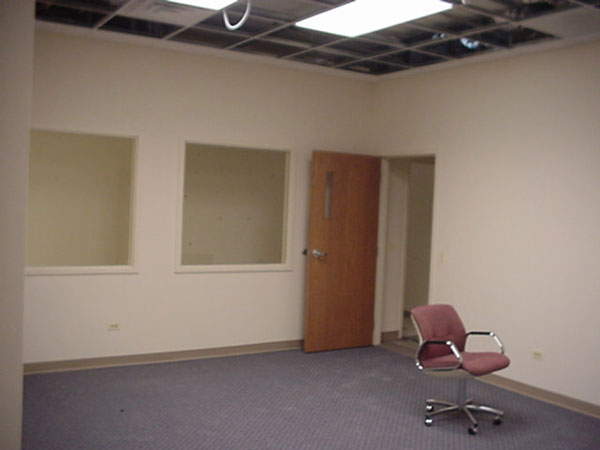 Completed conference room