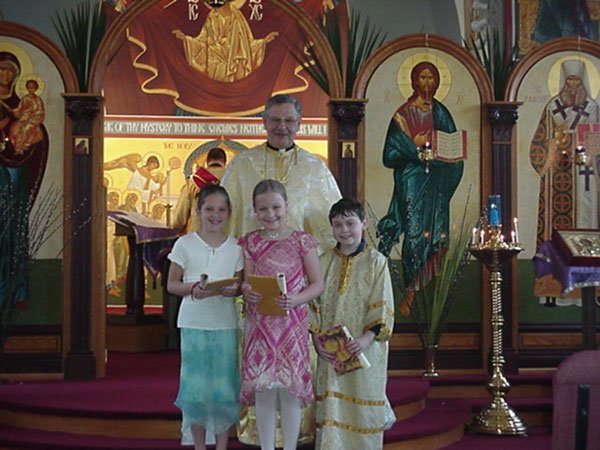 Children Received Certificates For First Confession.