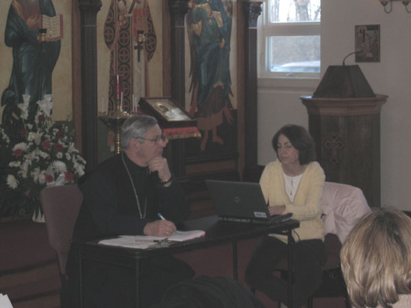 Scene from St. Luke's Holds Annual Meeting