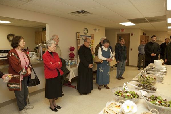 Sts. Constantine And Helen Parishioners Visit For Presanctified Liturgy