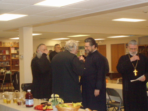St. Lukes Hosts Clergy Meeting.