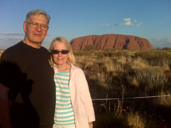 Scene from Father Andrew and Pat In Australia.