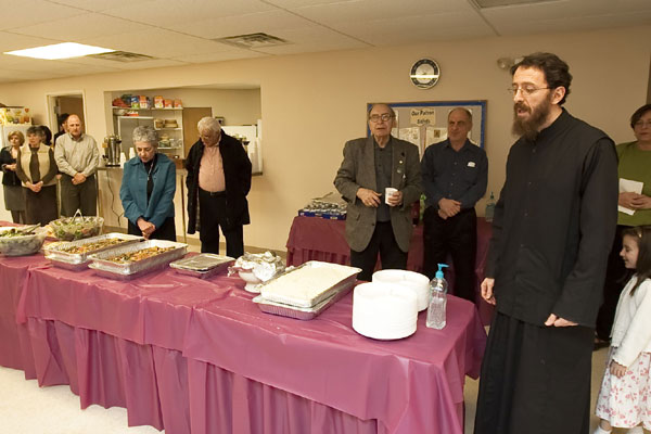 Scene from Sts. Constantine and Helen Parish Visits For Presanctified Liturgy