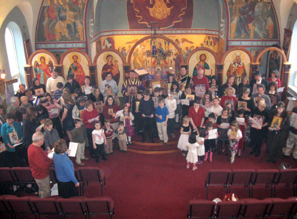 Scene from Sunday Of Orthodoxy.