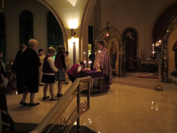 Scene from Sts. Constantine And Helen Parish Hosts Presantified Liturgy