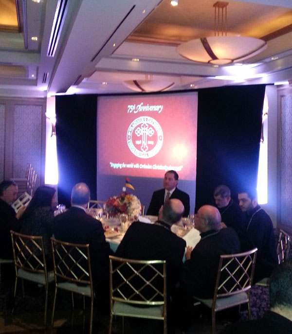 Scene from 75th Anniversary Benefit Banquet Of St.Vladimir's Seminary