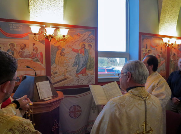 Scene from Icon Blessing.
