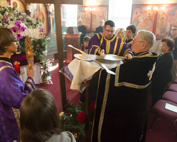 Scene from Holy Week - Friday Afternoon Procession With The Burial Shroud.