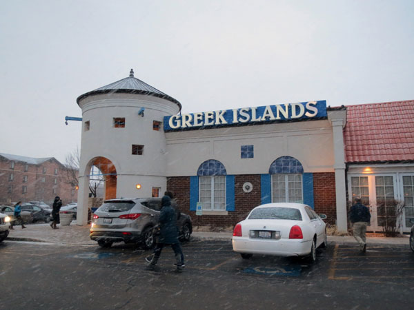 Scene from Food For The Christian Soul Visits Greek Islands.