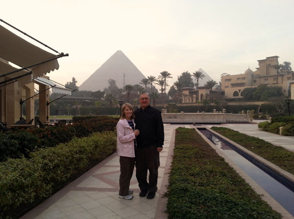 Scene from Father Andrew And Pat In Egypt.