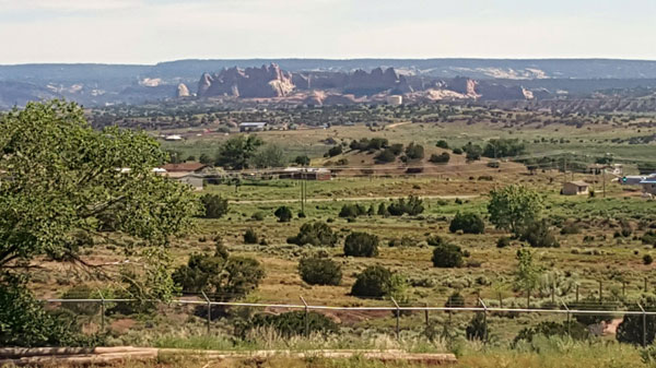 Scene from Mission To Navajo Reservation.