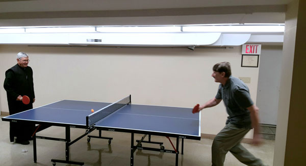 Scene from Ping Pong Anyone?