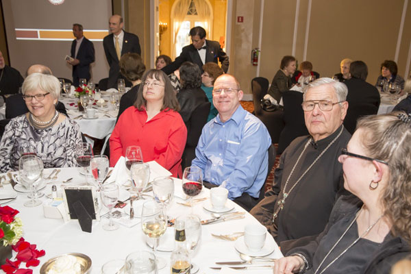 Scene from IOCC Annual Pan Orthodox Banquet.