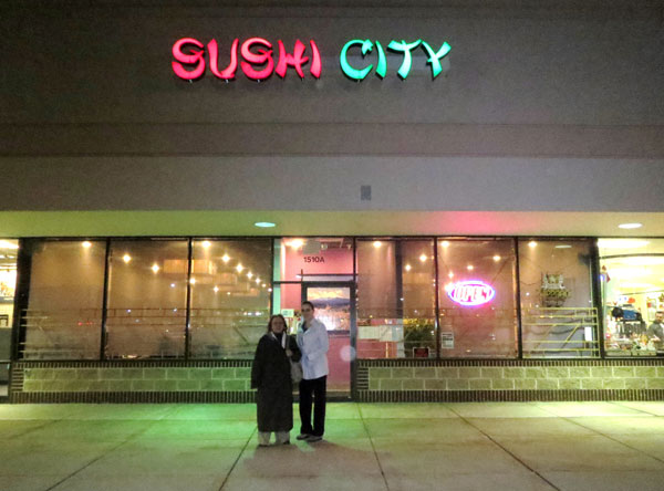 Scene from Sushi City.
