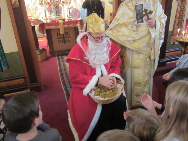 Scene from A Visit From St. Nicholas