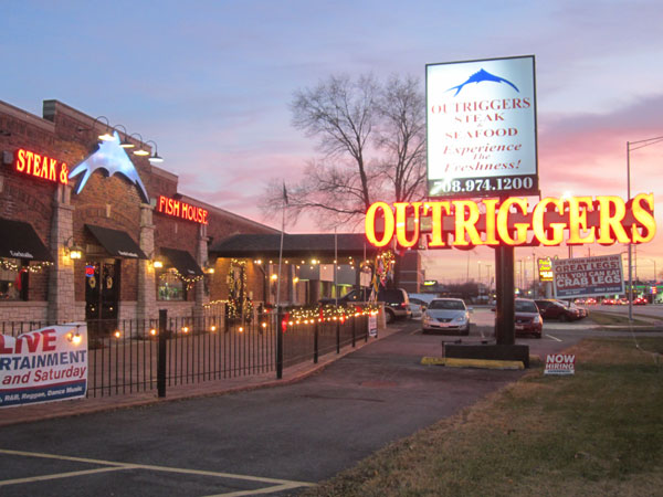 Scene from Food For The Christian Soul Visits Outriggers.