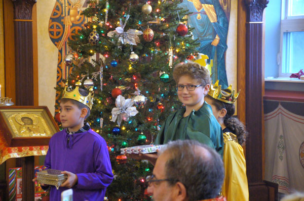 Scene from Christmas Pageant.