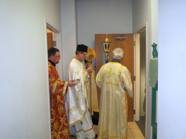 Scene from Divine Liturgy For The Feast Of Epiphany