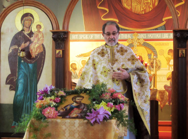 Scene from St. Luke Parish Celebrates Feast Day.