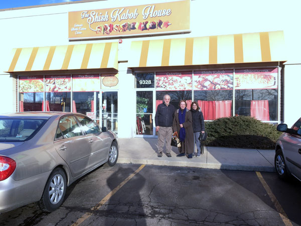Scene from Food For The Soul Visits The Shish Kabob House.