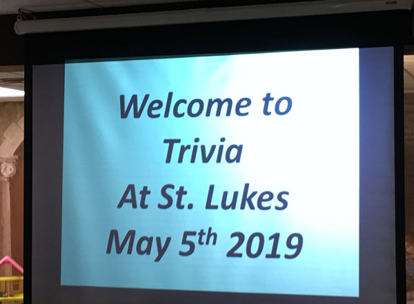 Scene from St. Zinaida Mental Health Ministry Hosts Dinner And Trivia