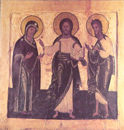 Icon of Christ - Deesis.