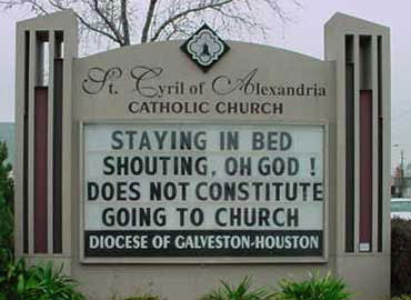 Who Says Religion Can't Be Funny?.