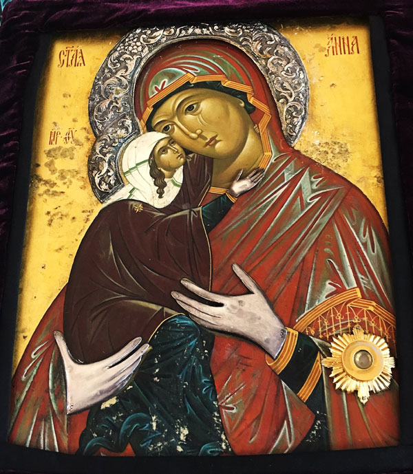 Scene from  Wonderworking Icon Of Anna The Mother Of The Theotokos